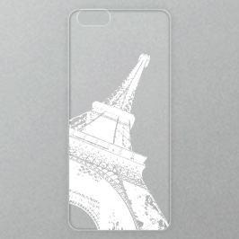 Výměnné akrylové sklo iSaprio Alu pro iPhone 6 / 6S - Paris - white