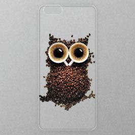 Výměnné akrylové sklo iSaprio Alu pro iPhone 6 / 6S - Owl And Coffee