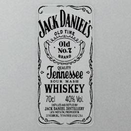 Výměnné akrylové sklo iSaprio Alu pro iPhone 6 / 6S - Jack Daniels - black