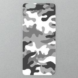 Výměnné akrylové sklo iSaprio Alu pro iPhone 6 / 6S - Gray Camo