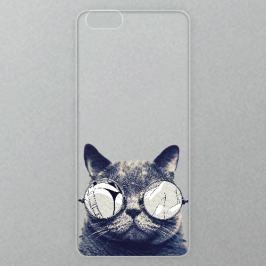 Výměnné akrylové sklo iSaprio Alu pro iPhone 6 / 6S - Crazy Cat 01