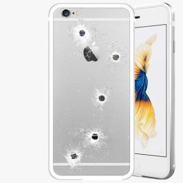 Kryt na mobil iSaprio Alu Silver pro iPhone 6 / 6S - Bullet