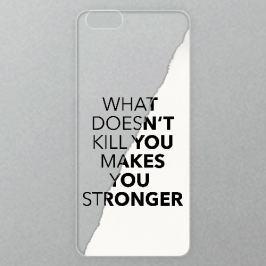 Výměnné akrylové sklo iSaprio Alu pro iPhone 6 Plus / 6S Plus - Makes You Stronger
