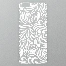 Výměnné akrylové sklo iSaprio Alu pro iPhone 6 Plus / 6S Plus - Abstract Flowers 08 - white