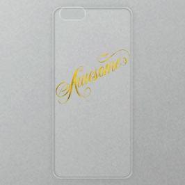 Výměnné akrylové sklo iSaprio Alu pro iPhone 6 Plus / 6S Plus - Awesome - gold
