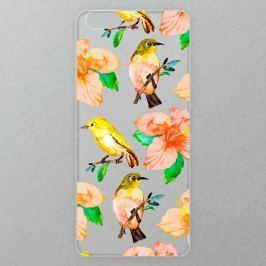 Výměnné akrylové sklo iSaprio Alu pro iPhone 6 Plus / 6S Plus - Birds Pattern 01 Domů