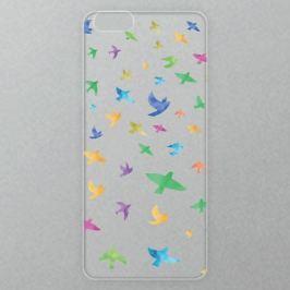 Výměnné akrylové sklo iSaprio Alu pro iPhone 6 Plus / 6S Plus - Color Birds