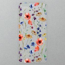 Výměnné akrylové sklo iSaprio Alu pro iPhone 6 Plus / 6S Plus - Flower Pattern 05