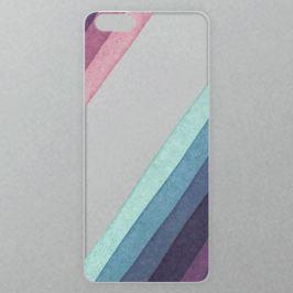Výměnné akrylové sklo iSaprio Alu pro iPhone 6 Plus / 6S Plus - Glitter Stripes 01
