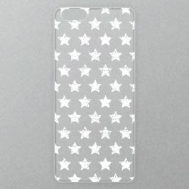 Výměnné akrylové sklo iSaprio Alu pro iPhone 6 Plus / 6S Plus - Stars Pattern - white