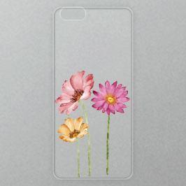 Výměnné akrylové sklo iSaprio Alu pro iPhone 6 Plus / 6S Plus - Three Flowers