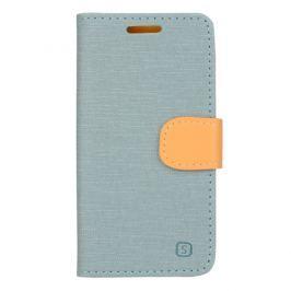 Pouzdro / kryt iSaprio Flip Case Light Blue pro Lenovo A2010