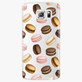 Plastový kryt iSaprio - Macaron Pattern - Samsung Galaxy S6 Edge Plus