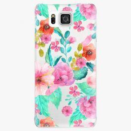 Plastový kryt iSaprio - Flower Pattern 01 - Samsung Galaxy Alpha