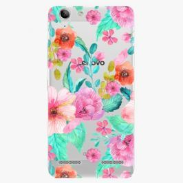 Plastový kryt iSaprio - Flower Pattern 01 - Lenovo Vibe K5