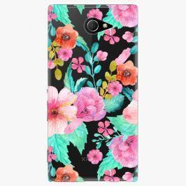 Plastový kryt iSaprio - Flower Pattern 01 - Sony Xperia M2