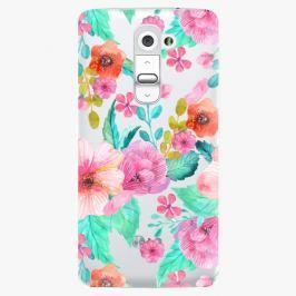 Plastový kryt iSaprio - Flower Pattern 01 - LG G2 (D802B)