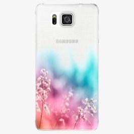 Plastový kryt iSaprio - Rainbow Grass - Samsung Galaxy Alpha