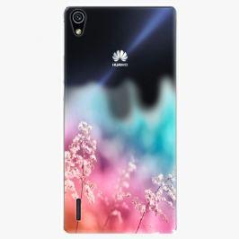 Plastový kryt iSaprio - Rainbow Grass - Huawei Ascend P7