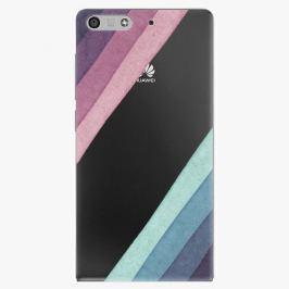 Plastový kryt iSaprio - Glitter Stripes 01 - Huawei Ascend P7 Mini
