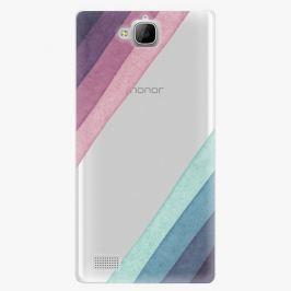 Plastový kryt iSaprio - Glitter Stripes 01 - Huawei Honor 3C