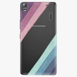 Plastový kryt iSaprio - Glitter Stripes 01 - Lenovo A7000