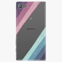 Plastový kryt iSaprio - Glitter Stripes 01 - Sony Xperia Z5 Compact