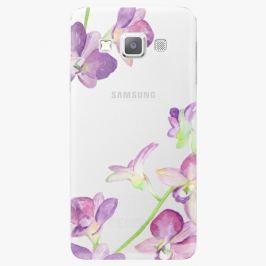 Plastový kryt iSaprio - Purple Orchid - Samsung Galaxy A3