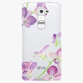 Plastový kryt iSaprio - Purple Orchid - LG G2 (D802B)