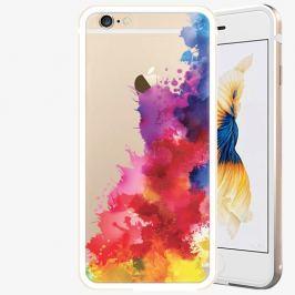 Plastový kryt iSaprio - Color Splash 01 - iPhone 6/6S - Gold