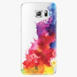 Plastový kryt iSaprio - Color Splash 01 - Samsung Galaxy S6 Edge Plus