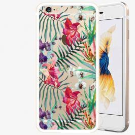 Plastový kryt iSaprio - Flower Pattern 03 - iPhone 6 Plus/6S Plus - Gold