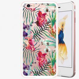 Plastový kryt iSaprio - Flower Pattern 03 - iPhone 6 Plus/6S Plus - Rose Gold