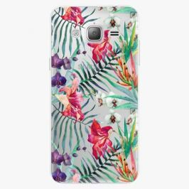 Plastový kryt iSaprio - Flower Pattern 03 - Samsung Galaxy J3 2016
