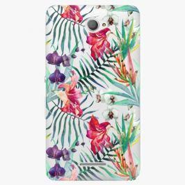 Plastový kryt iSaprio - Flower Pattern 03 - Sony Xperia E4