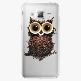 Plastový kryt iSaprio - Owl And Coffee - Samsung Galaxy J3 2016