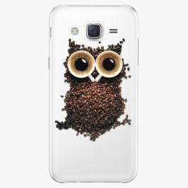 Plastový kryt iSaprio - Owl And Coffee - Samsung Galaxy J5