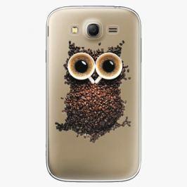 Plastový kryt iSaprio - Owl And Coffee - Samsung Galaxy Grand Neo Plus