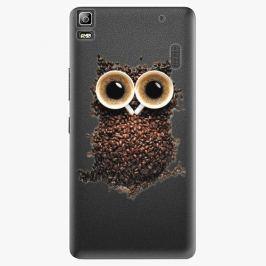 Plastový kryt iSaprio - Owl And Coffee - Lenovo A7000