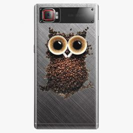 Plastový kryt iSaprio - Owl And Coffee - Lenovo Z2 Pro