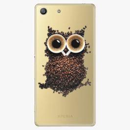 Plastový kryt iSaprio - Owl And Coffee - Sony Xperia M5