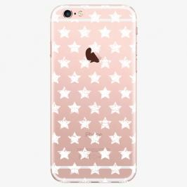 Plastový kryt iSaprio - Stars Pattern - white - iPhone 6 Plus/6S Plus