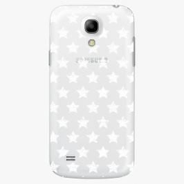 Plastový kryt iSaprio - Stars Pattern - white - Samsung Galaxy S4 Mini