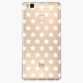 Plastový kryt iSaprio - Stars Pattern - white - Huawei Ascend P9 Lite