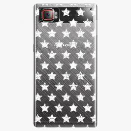 Plastový kryt iSaprio - Stars Pattern - white - Lenovo Z2 Pro