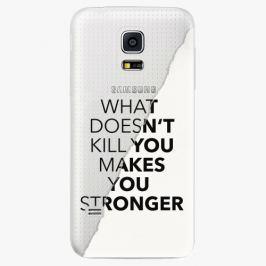 Plastový kryt iSaprio - Makes You Stronger - Samsung Galaxy S5 Mini