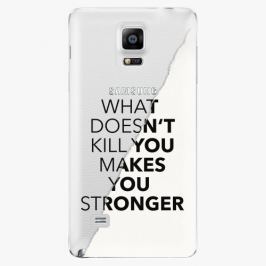 Plastový kryt iSaprio - Makes You Stronger - Samsung Galaxy Note 4