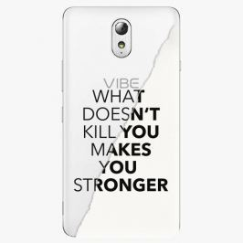 Plastový kryt iSaprio - Makes You Stronger - Lenovo P1m