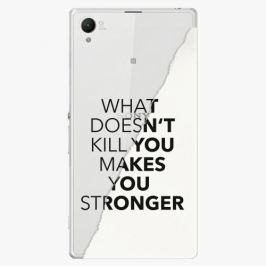 Plastový kryt iSaprio - Makes You Stronger - Sony Xperia Z1
