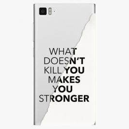 Plastový kryt iSaprio - Makes You Stronger - Xiaomi Mi3